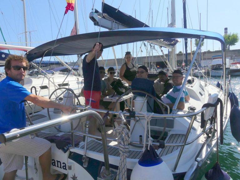 Amazón Team Sailing - Barcelona august '19