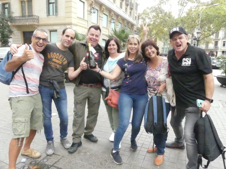 CLUEDO CSI Barcelona - Cumple Pilar - oct. '19