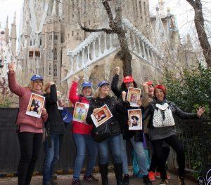 Cluedo CSI El Ángel de Gaudí Barcelona foto 1