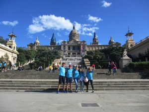 Cluedo CSI Montjuic Barcelona foto 2