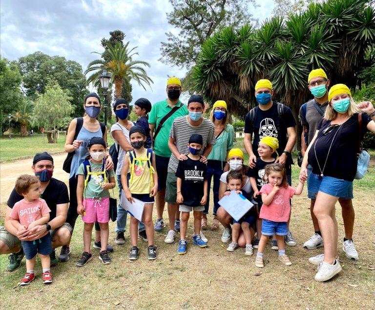 Gincana Familia Parc de la Ciutadela - Coco cumple 40 - junio '21