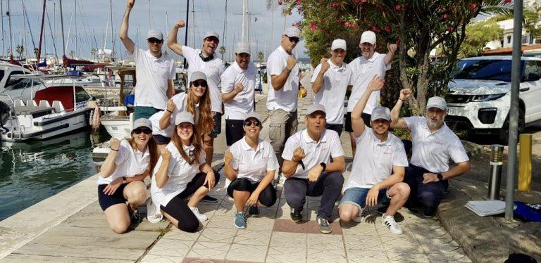 Team building en velero con Lunet - julio '21