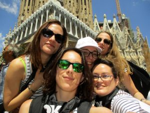 Gincana Gaudí Barcelona foto 2