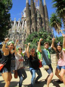 Gincana Sagrada Familia Barcelona foto 1