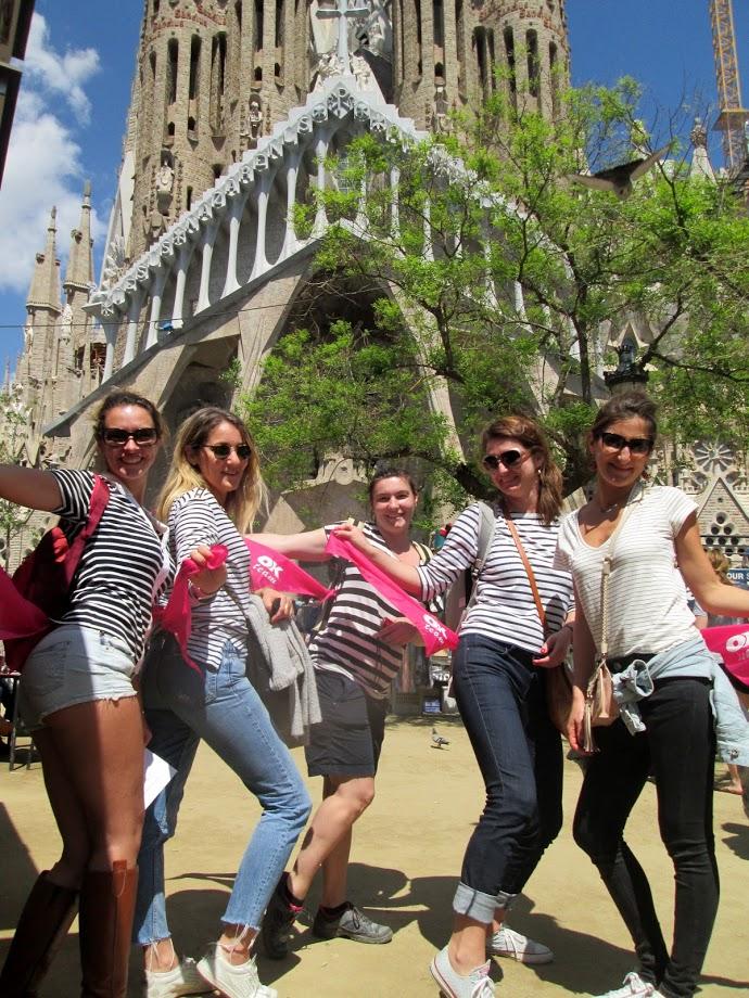 Gincana Sagrada Familia Barcelona foto 2