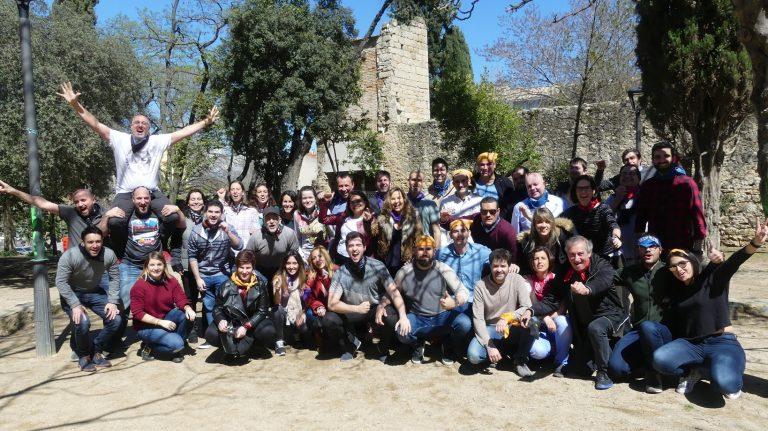 Gincana en Sant Cugat Barcelona foto 1