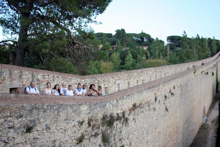 Gincana muralla Girona