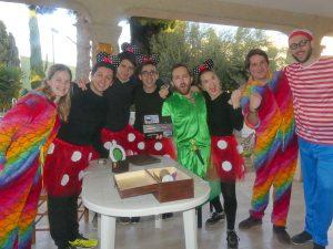 Aniversarios comuniones fiestas indoor