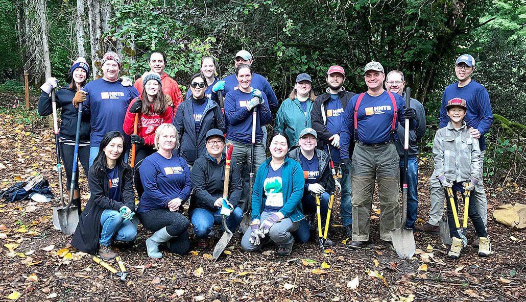 team building limpiar bosques
